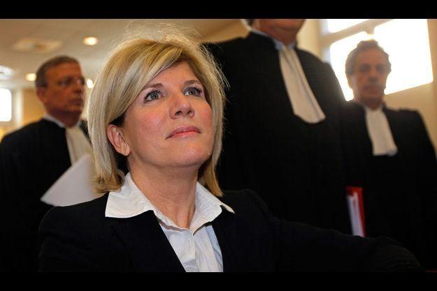 Sylvie Andrieux, au tribunal correction de Marseille.