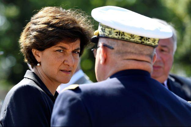 Sylvie Goulard dimanche lors de la commémoration de l'appel du 18-juin.