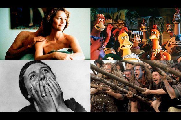 """Saurez-vous qui aime """"Sous le sable"""", """"Braveheart"""", """"La Passion de Jeanne d'Arc"""" ou """"Chicken Run""""?"""
