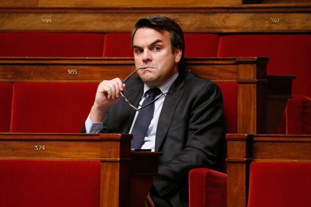 Thomas Thévenoud, ici à l'Assemblée nationale en 2014.