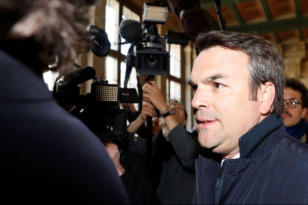 Thomas Thévenoud le 19 avril dernier.
