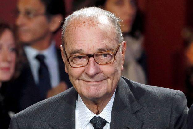 Jacques Chirac lors de sa dernière apparition le 21 novembre 2014