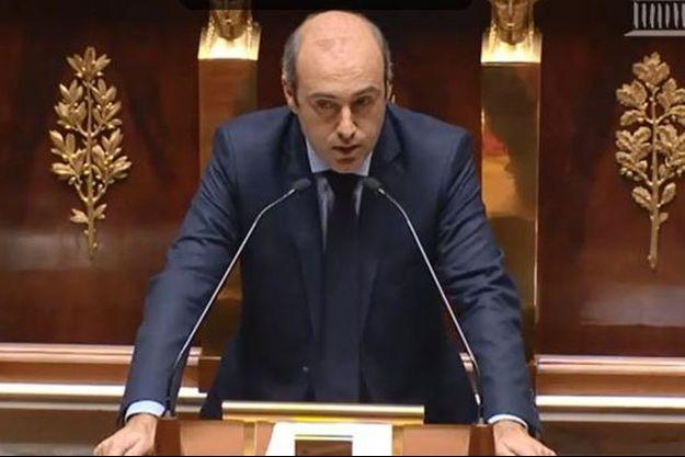 Olivier Marleix à l'Assemblée nationale.