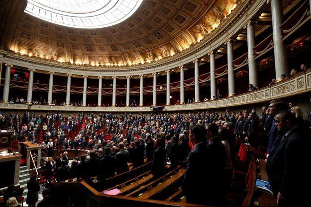 L'Assemblée nationale, le 3 octobre dernier.