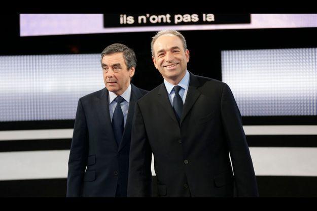 François Fillon et Jean-François Copé lors de leur débat, le 25 octobre dernier.