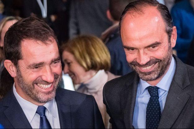 Christophe Castaner et Edouard Philippe, en novembre dernier.