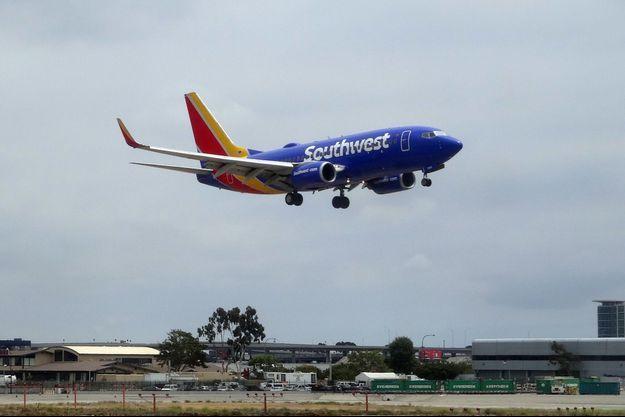 Ici un vol de la compagnie Southwest en mai 2018 à Los Angeles.