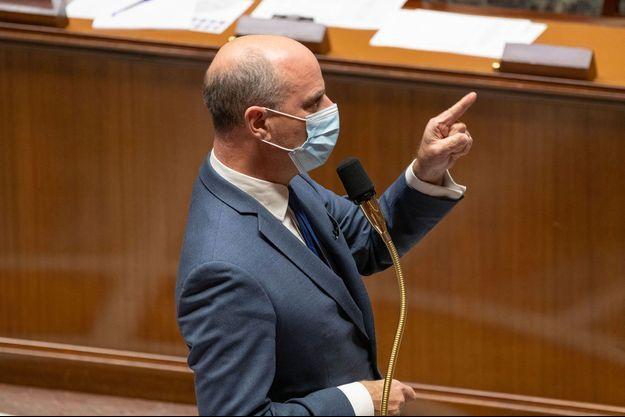 Jean-Michel Blanquer à l'Assemblée nationale mardi.