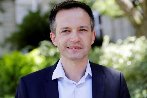 L'élu de centre-droit Pierre-Yves Bournazel, en 2017 à Paris.