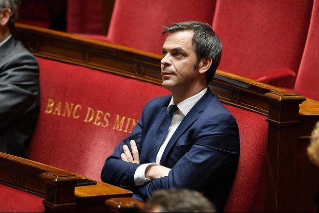 Olivier Véran, à l'Assemblée nationale, en avril 2020.