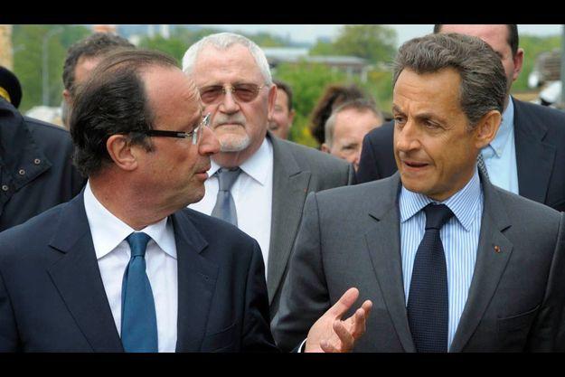 Le 28 avril dernier, premier déplacement depuis son élection de Nicolas Sarkozy en Corrèze, officiellement pour soutenir la « filière bois ». Le patron du conseil général, François Hollande, se devait d'être là !
