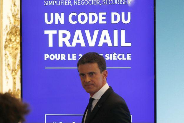 Manuel Valls a annoncé mercredi une refonte du Code du travail.