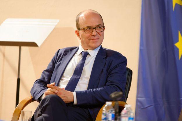 Le sénateur LREM André Gattolin à Sèvres, début octobre.