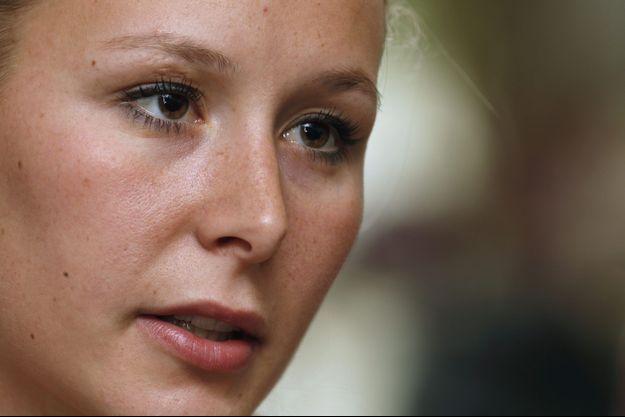 Marion Maréchal-Le Pen le 7 octobre.