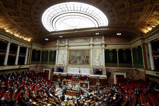 Image d'illustration. L'Assemblée nationale fin janvier.