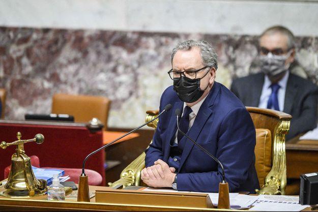 Richard Ferrand, le 9 février à l'Assemblée nationale.