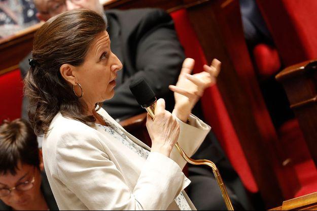 Agnès Buzyn , à l'Assemblée mercredi.