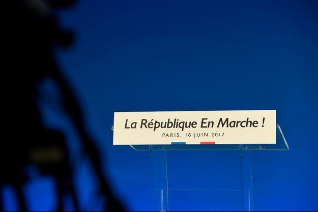 Avant l'annonce du résultat du second tour des législatives, le 18 juin 2017, à Paris.