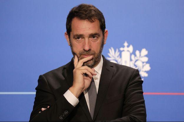 Christophe Castaner mercredi lors de son dernier compte-rendu du conseil des ministres.