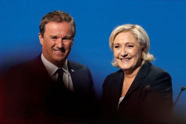 Dupont-Aignan Le Pen