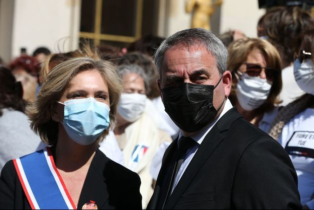 Valérie Pécresse et Xavier Bertrand, le 25 avril 2021.
