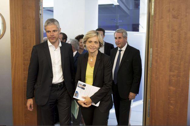Laurent Wauquiez et Valérie Pécresse.