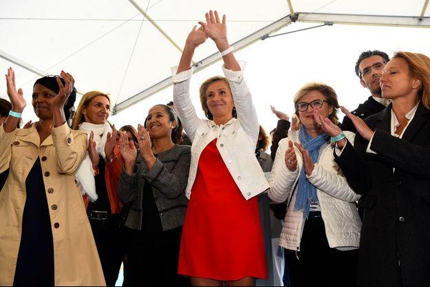 Valérie Pécresse dimanche à Argenteuil.