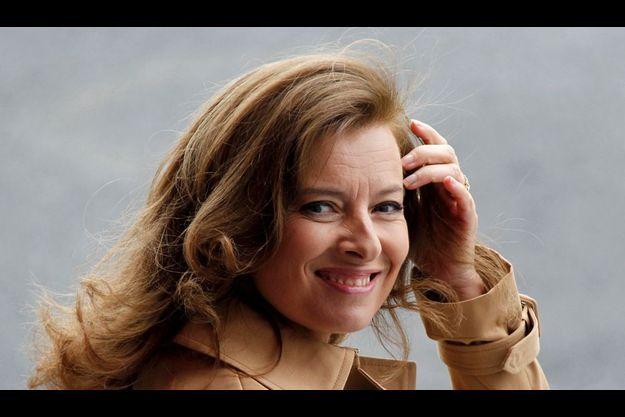 Valérie Trierweiler, le 14 juillet dernier.