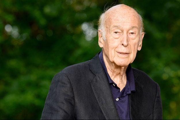 L'ancien président de la République, Valéry Giscard d'Estaing, ici à l'été 2018.