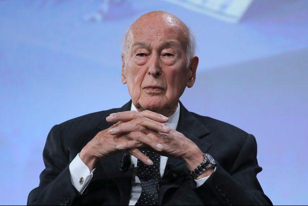 Valéry Giscard d'Estaing le 20 juin 2019 à Paris.
