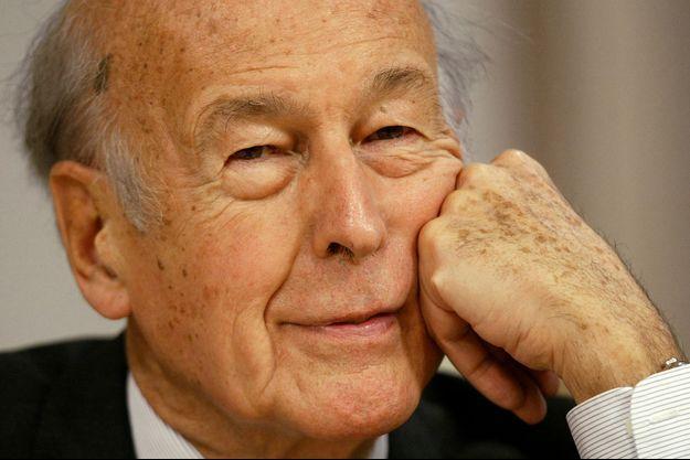Valéry Giscard d'Estaing, ici en juin 2003 à Bruxelles.