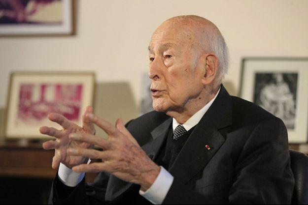 Valéry Giscard d'Estaing, ici le 30 janvier lors d'une interview.