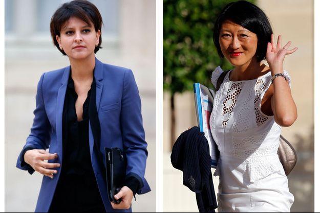 Najat Vallaud Belkacem et Fleur Pellerin sont désormais en charge de l'Education nationale et de la Culture.