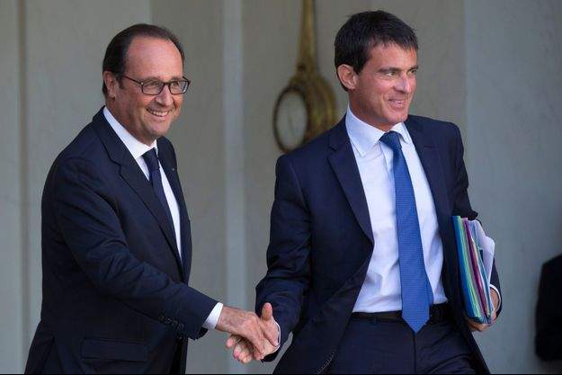 François Hollande et Manuel Valls, le 3 septembre dernier.