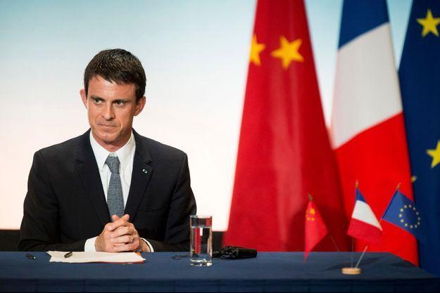 Manuel Valls, au sommet franco-chinois organisé à Toulouse, le 2 juillet dernier.