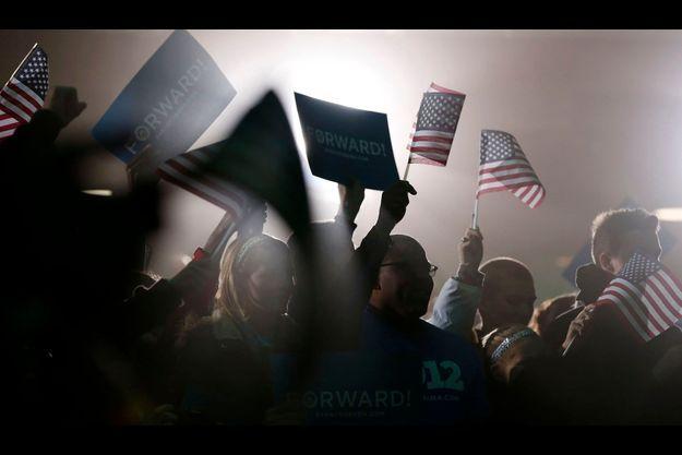 Le meeting d'Obama à Hilliard, dans l'Ohio, le 2 novembre.