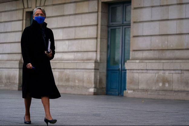 La ministre du Travail Elisabeth Borne, la semaine dernière à Paris.