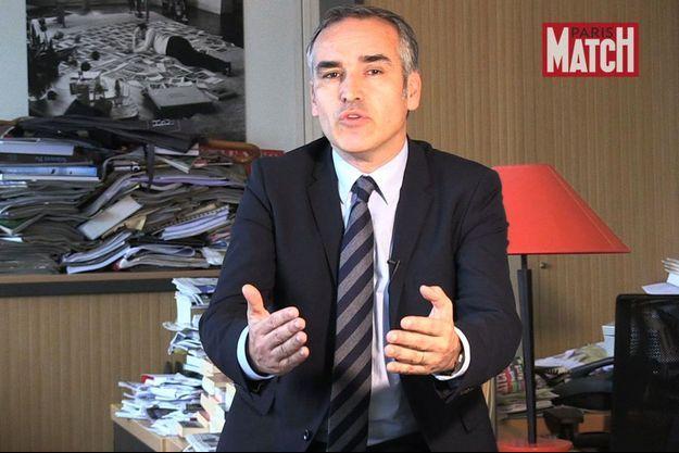 Bruno Jeudy est rédacteur en chef politique de Paris Match.