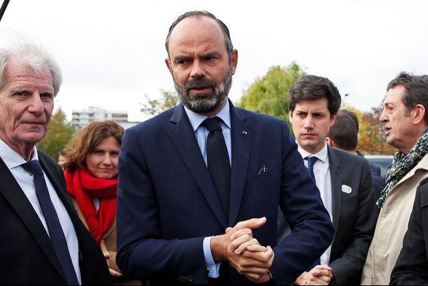 Edouard Philippe lundi en Seine-Saint-Denis.