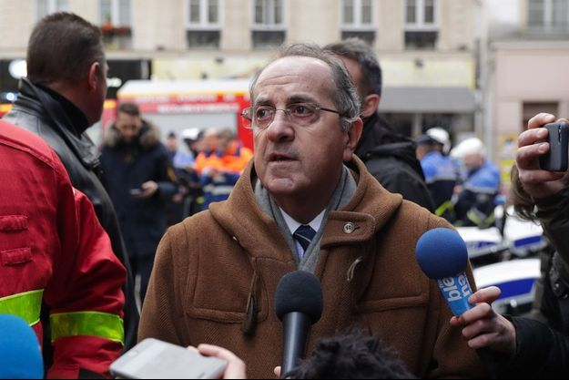 Le préfet Michel Delpuech à Paris le 12 janvier dernier.