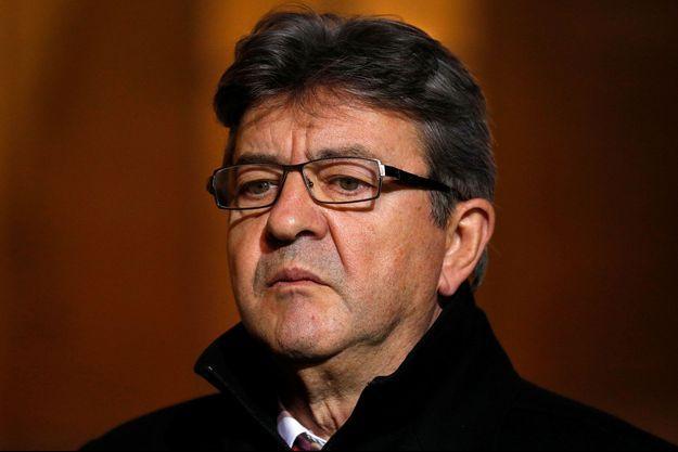 Jean-Luc Mélenchon, le 21 novembre 2017 à l'Elysée.