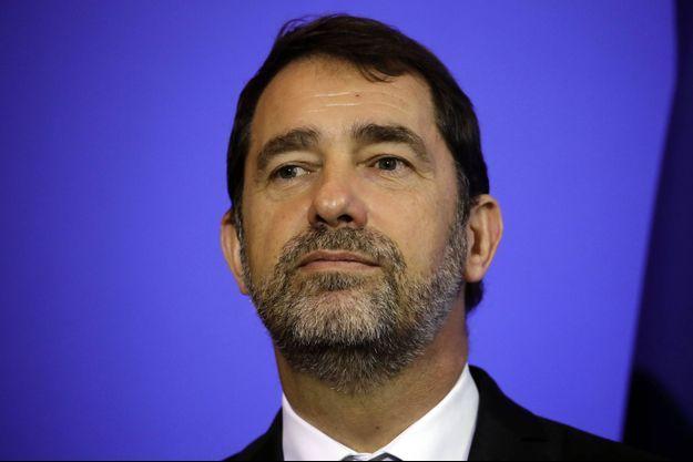 Christophe Castaner, jeudi lors des vœux de la gendarmerie nationale.