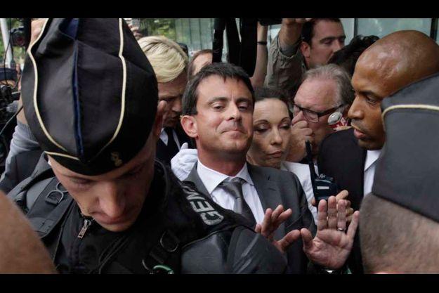 Manuel Valls a été conspué à Amiens.