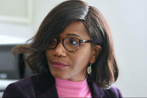 Elisabeth Moreno, ministre déléguée chargée de l'Egalité femmes-hommes, ici en février à Strasbourg.