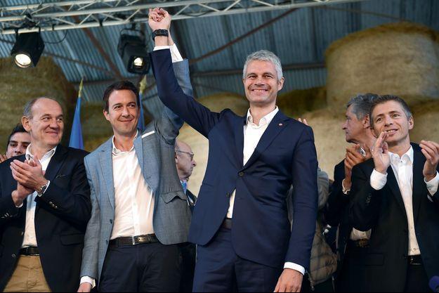 Guillaume Peltier et Laurent Wauquiez.