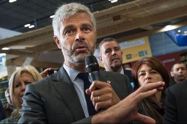 Laurent Waquiez ici au Salon de l'Agriculture, à Paris en février 2020.