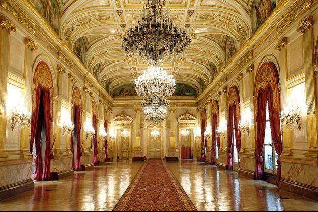Le séminaire se déroulera dans la salle des fêtes de l'Hôtel de Lassay.