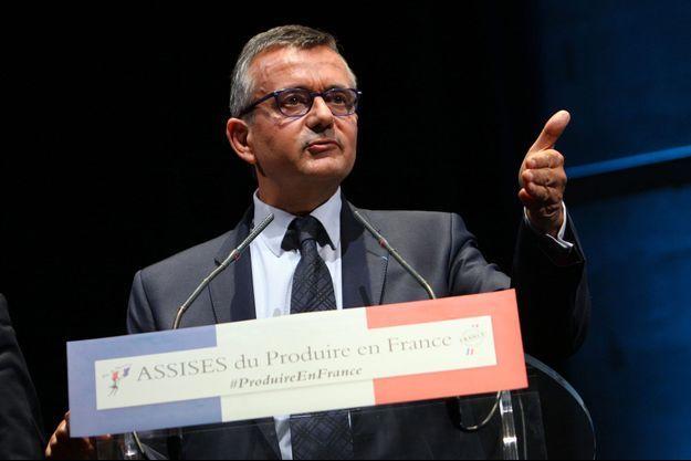 Yves Jégo aux assises du produire en France, jeudi.