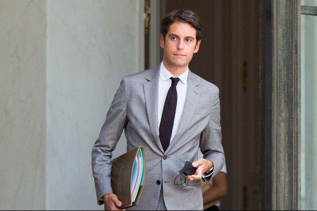 Gabriel Attal, à l'Elysée en juillet.