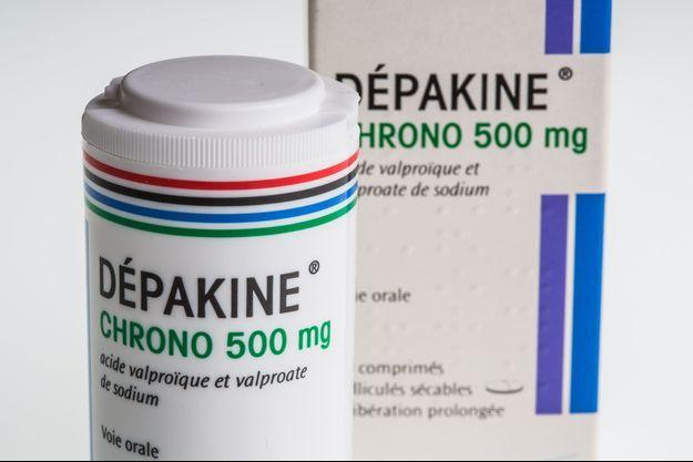 Le Dépakine, un antiépileptique pris par plus de 10.000 femmes entre 2007 et 2014.